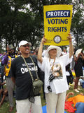 Protect Voting Rights Royalty Free Stock Photos