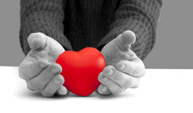 Protect you heart concept Royalty Free Stock Images