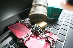 Protect Your Assets & Accounts Stock Photo