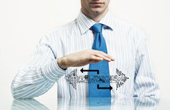 Protect your business Stock Photo