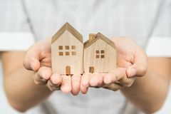 Protect your house with care Stock Photo