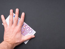 Protect your money Royalty Free Stock Image