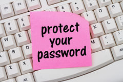 Protect your password Royalty Free Stock Images
