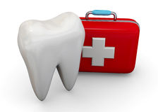 Protect Your Teeth Concept - 3D Royalty Free Stock Image