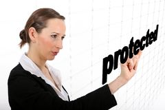 Protected area Royalty Free Stock Image