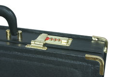 Protected briefcase Royalty Free Stock Photography