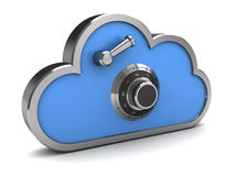 Protected cloud Stock Image