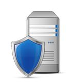 Protected computer Stock Photography