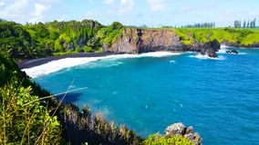 A protected cove to swim and play maui Royalty Free Stock Photo