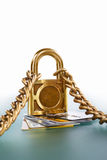 Protected credit cards Royalty Free Stock Images