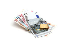 Protected currency Royalty Free Stock Photo