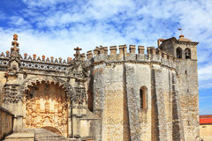 The protected and decorated palace of the Templars Royalty Free Stock Images