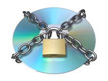 Protected Disc Stock Photo