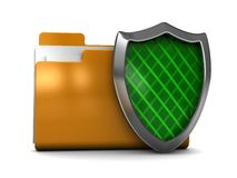 Protected folder Royalty Free Stock Photography