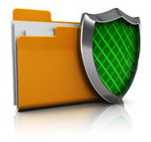 Protected folder Stock Photography