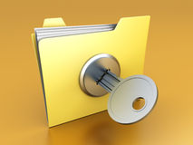 Protected folder Stock Photos