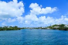 Protected Harbor on Bermuda Stock Photo