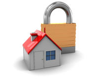 Protected home Royalty Free Stock Images