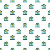 Protected home pattern seamless Royalty Free Stock Photography