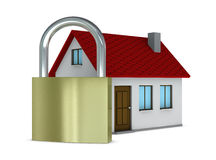 Protected house Stock Photography