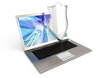 Protected Laptop Stock Images