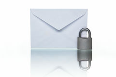 Protected mail royalty free stock image