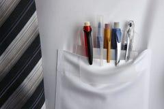 Protecteur de poche Photo stock