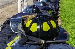 Protecteur de sapeur-pompier Photo stock