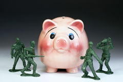 Protecting American Money. Stock Photography