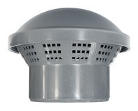 Protecting cap of ventilation pipe Stock Image