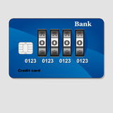 Protecting credit card Royalty Free Stock Photography