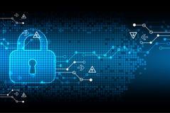 Protecting digital encoding. Stock Photos