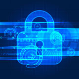 Protecting digital encoding. Stock Image