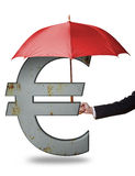 Protecting the Euro Stock Photos