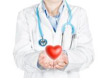 Protecting the heart health Stock Photo
