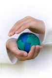 Protecting the Planet Stock Image