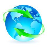 Protecting the planet Royalty Free Stock Images