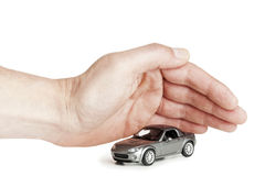Protecting your car Stock Images