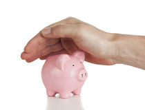 Protecting your savings royalty free stock photo
