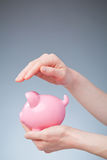 Protecting Your Savings Concept Stock Photography