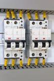 Protection électrique Photos stock