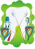 Protection against dental caries Royalty Free Stock Image