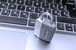 Protection against internet piracy Stock Images