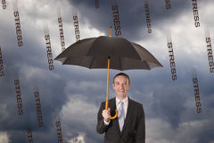 Protection against stress Royalty Free Stock Photos