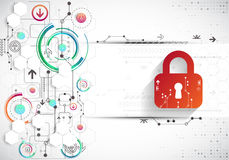 Protection background. Technology security, encode and decrypt, Stock Images
