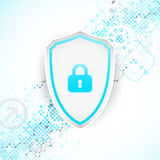 Protection background. Technology security, encode and decrypt. Stock Photo