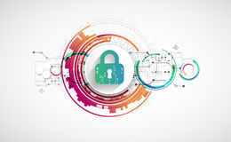 Protection background. Technology security, encode and decrypt, Stock Photos