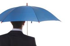 protection bleue Photographie stock libre de droits