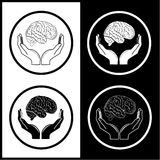 Protection of brain Royalty Free Stock Image
