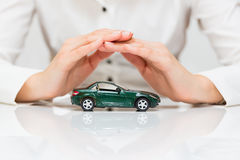 Protection of car Stock Image